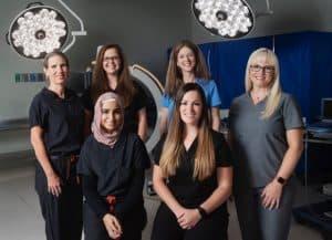 Photo of Female Surgeons at CSA